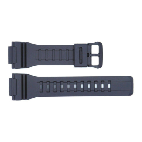 Genuine Casio Black Resin 27mm/18mm Watch Strap- 10452139