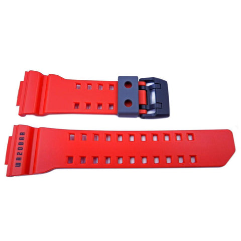 Genuine Casio G-Shock Matte Red 29mm/16mm Watch Band