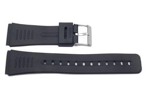 Casio Style Replacement 22mm Black Watch Strap P3030