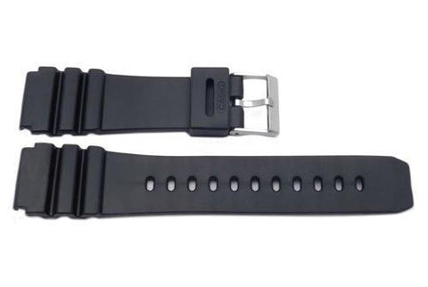 Casio Style Replacement 22mm Black Watch Band P3079