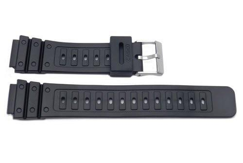 Casio Style Replacement 18mm Black Watch Band - P3042
