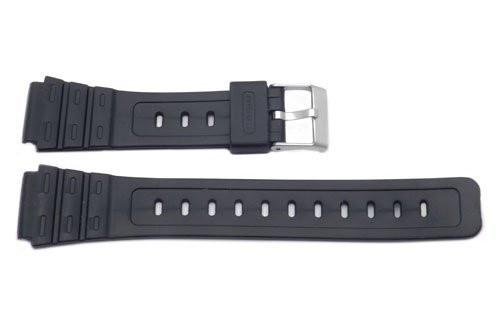 Casio Style Replacement 18mm Black Watch Band P3020