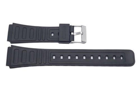 Casio Style Replacement 18mm Black Watch Strap P3017