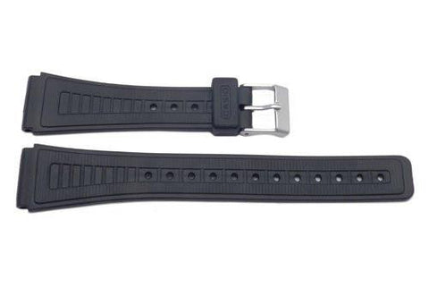 Casio Style Replacement 18mm Black Watch Strap P3014