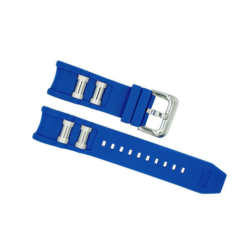 invicta 26mm blue russian diver strap