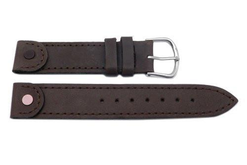 Swiss Army Brown Leather Ladies' Cavalry Watch Strap