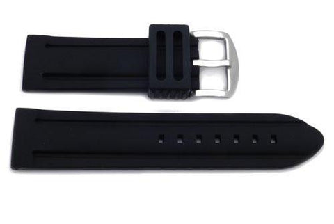 Heavy Duty Sports Style Rubber Watch Band