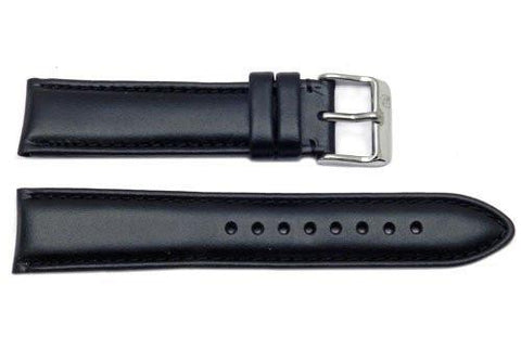 Genuine Leather Medium Padding Smooth Watch Band