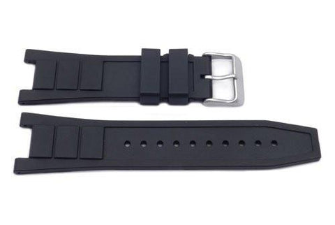 Swiss Army Genuine Rubber Black Convoy Chrono 25/14mm Watch Band