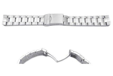 Swiss Army Stainless Steel Silver Tone Officer's 1884 Watch Strap