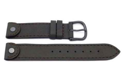 Swiss Army Brown Ladies' Cavalry Gun Metal Watch Band