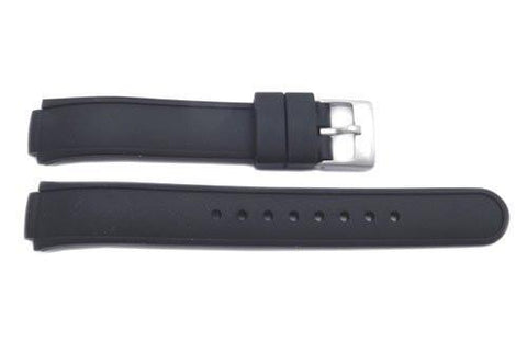 Swiss Army Rubber Black Base Camp 10.5mm Watch Band