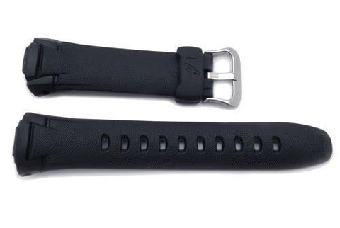 Genuine Casio Black Resin 14mm Watch Band