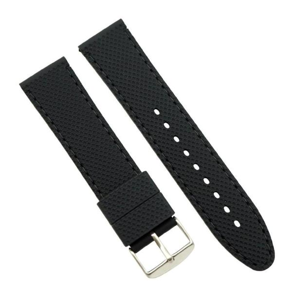 Premium Quality Dot Pattern Silicone Sport Watch Band Strap