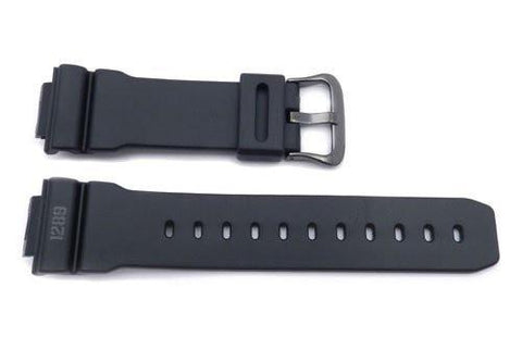 Genuine Casio Black Resin Military G-Shock 16mm Watch Band