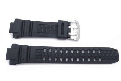 Genuine Casio Black Resin 26mm Watch Band- 10287236