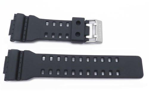 Genuine Casio Black Resin G-Shock Watch Band- 10347688