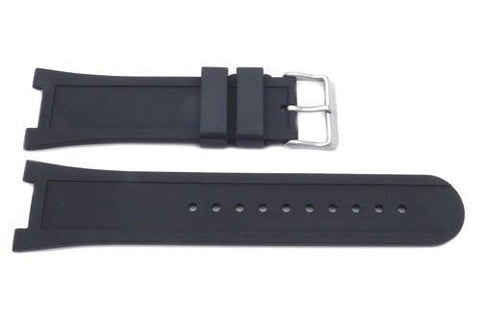 Swiss Army Genuine Rubber Black 13.4mm Night Vision 2 Watch Band