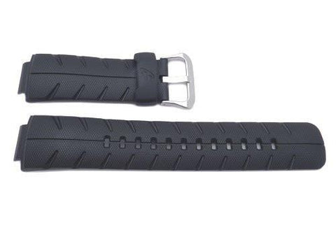Genuine Casio Black Resin G-Shock Street Rider Series 16mm Watch Band