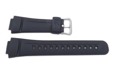 Genuine Casio Black Resin G-Shock Series 16mm Watch Band- 10093414