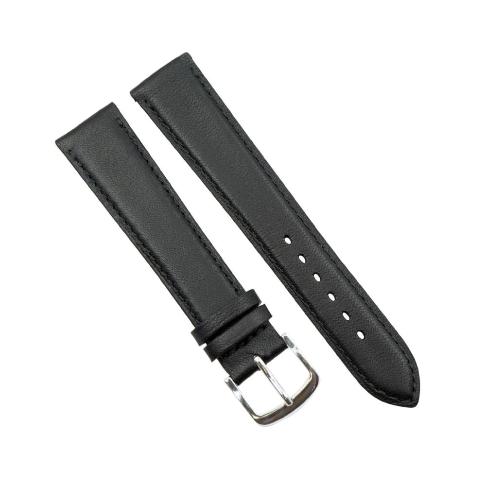 Genuine Smooth Soft Leather Handmade in France Short Watch Strap