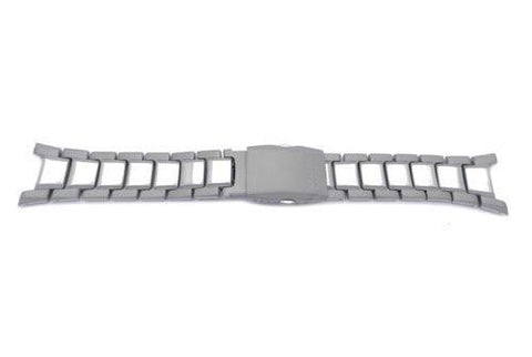 Genuine Casio Silver Tone Stainless Steel 23/13mm Watch Band- 10276736