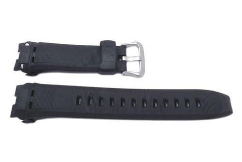 Genuine Casio Black Resin G-Shock Series 24mm Watch Band- 10165470