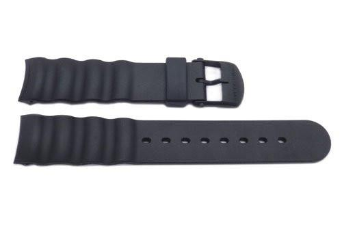 Genuine Swiss Army Black Rubber 16mm Odyssey Extreme Watch Band
