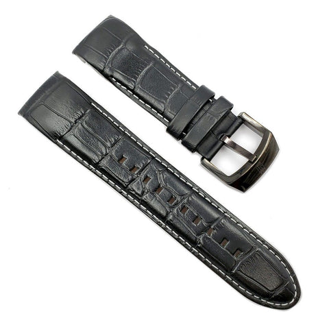 Genuine Invicta Black Leather Band for JT 12962