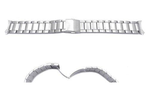 Seiko Stainless Steel Double Locking Clasp 19mm Watch Strap