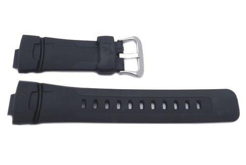Genuine Casio Black Resin 16mm G-Shock Atomic Series Watch Strap