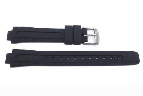 Genuine Citizen Black Rubber Ladies Watch Strap