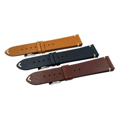 Vintage Horween USA Leather Watch Band Strap