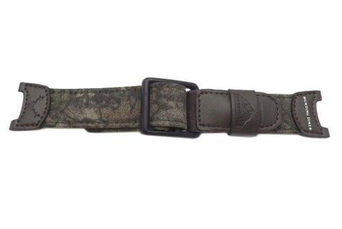Genuine Casio Camouflage Cloth and Nylon Pathfinder Series 24mm Watch Band- 10114608