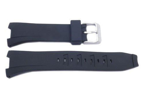 Genuine Seiko Black Rubber Coutura 20mm Watch Strap