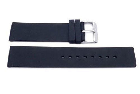 Genuine Silicone Textured Replcement Watch Strap