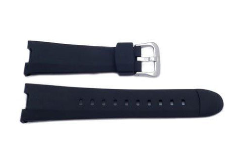 Genuine Casio Black Resin 20mm Watch Strap