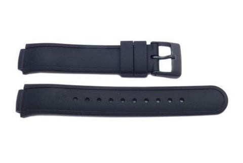 Genuine Swiss Army Black Rubber Base Camp Watch Band