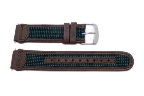 Timex Expedition Brown and Green Leather 18mm Watch Band