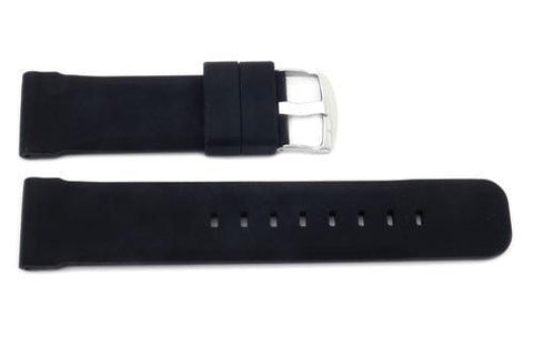 Genuine Silicone Smooth B-RB109 Watch Band