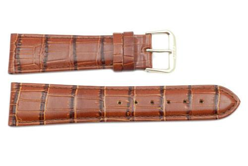 Alligator Grain Genuine Leather Watch Strap