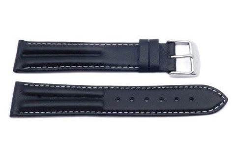 Waterproof Leather Sport Style Long Watch Band