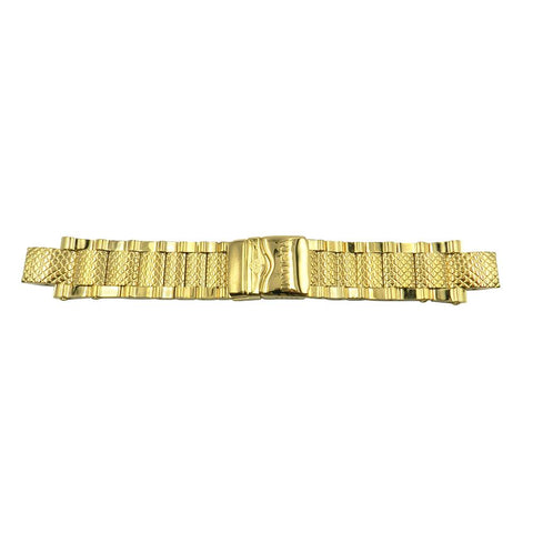 Genuine Invicta Gold Metal 28mm x 16mm SUBAQUA Watch Strap