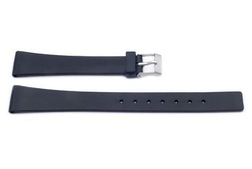 Black Plastic Watch Strap