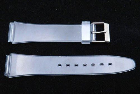 Clear Plastic 18mm Watch Band P3022