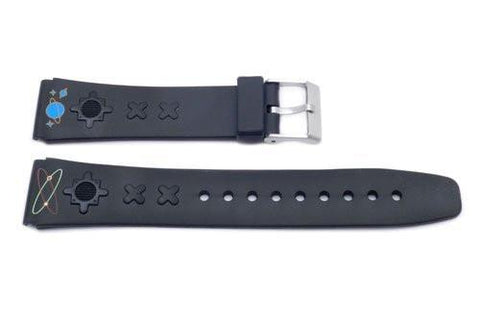 Black Planet Design 20mm Watch Band P3069