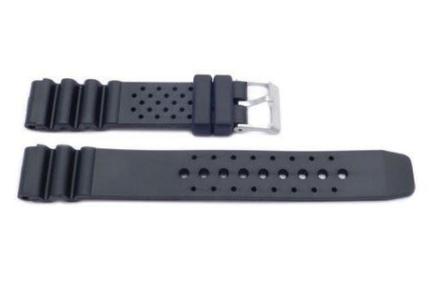 Black Dotted Design Watch Band P3080