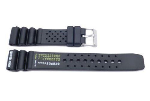 Black Citizen Style Aviator Watch Strap P3081