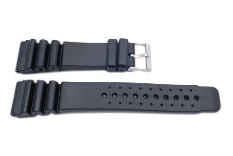 Black Citizen Style Thick Watch Band P3082