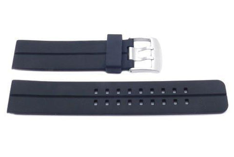 Black Sport Style Resin 22mm Watch Strap YH7222